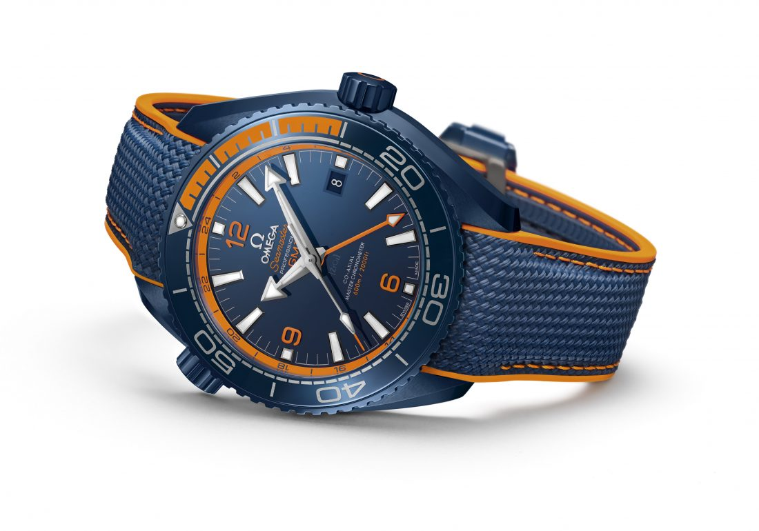 Omega Seamaster Planet Ocean 'Big Blue'