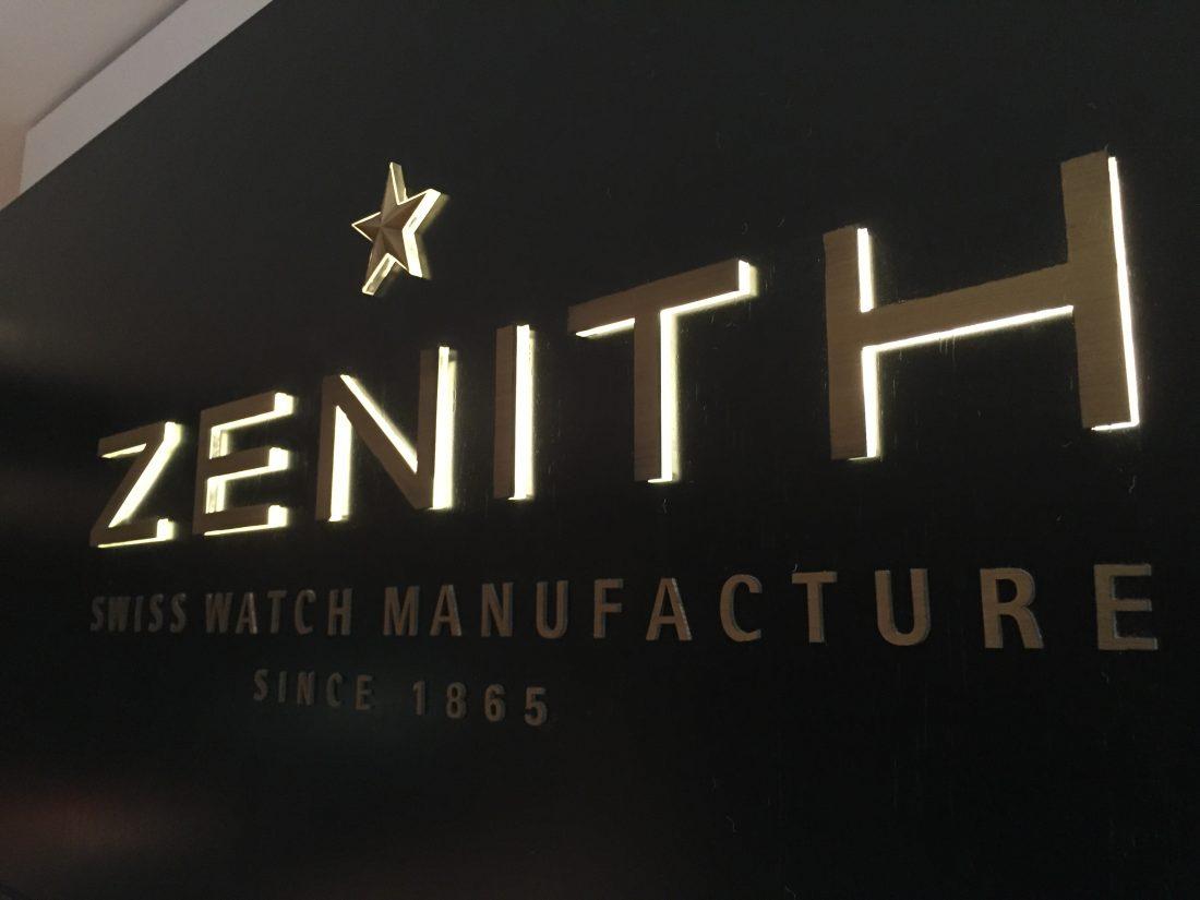 Képkockák a Zenith manufaktúrájából
