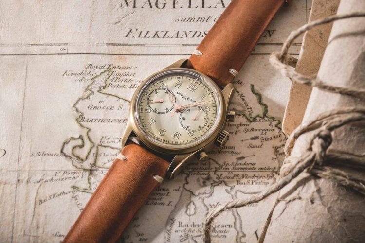 Montblanc 1858 Automatic Chronograph - bronz változat