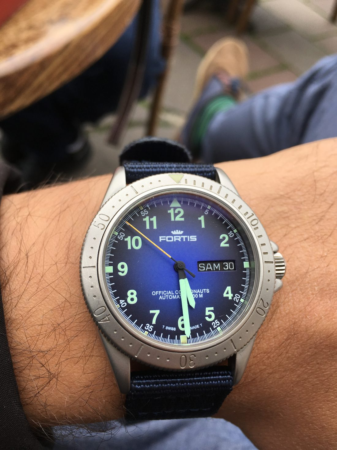 Fortis Official Cosmonauts