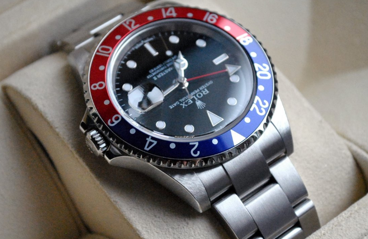 Rolex GM Master II 16710 S&A watches