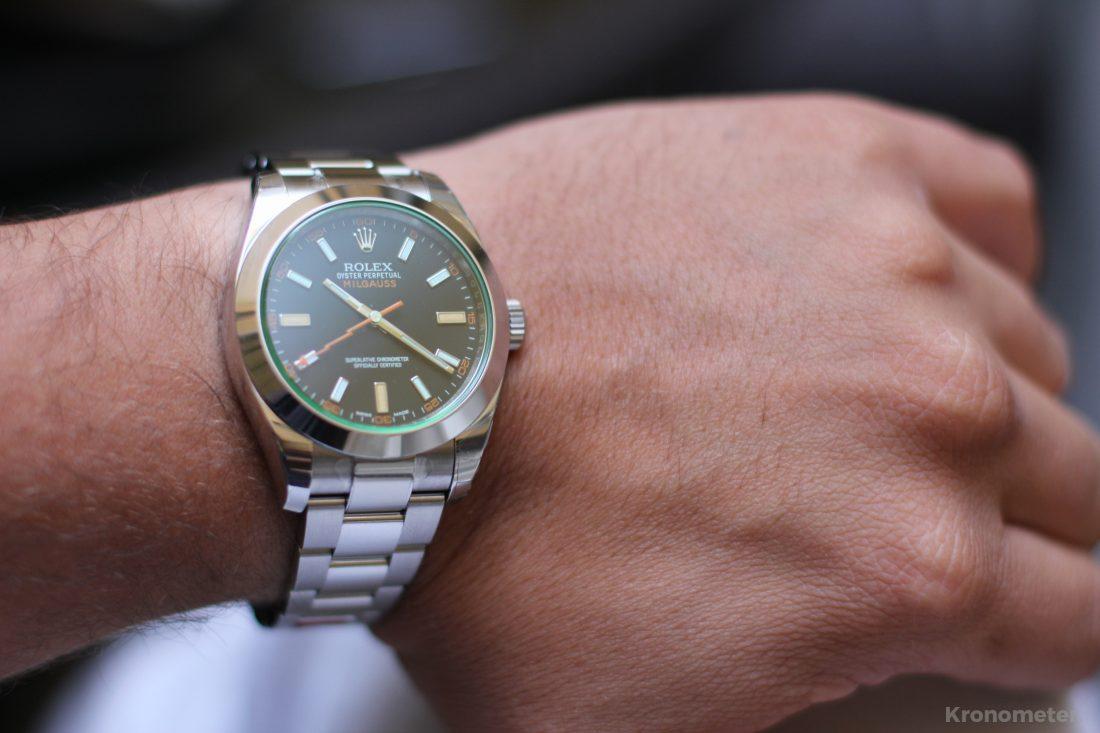 Szembejött - Rolex Milgauss 116400GV
