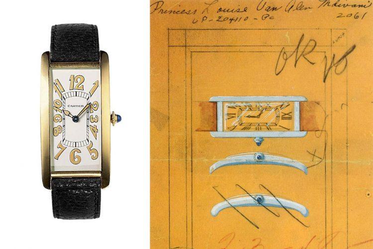100 éves a Cartier Tank