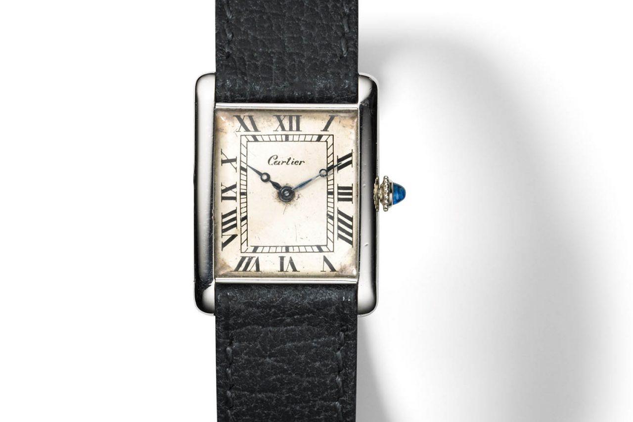 100 éves a Cartier Tank - Kronometer b3ac174ab8