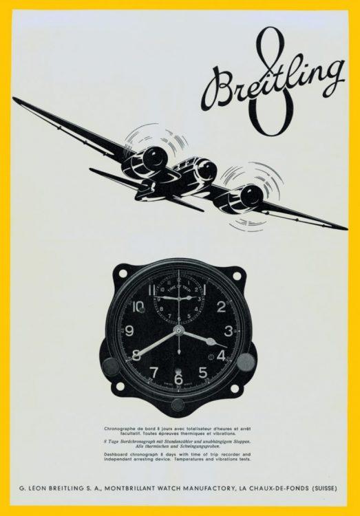 Meglepően friss az új Breitling Navitimer 8 kollekció - vissza a negyvenes évekbe!