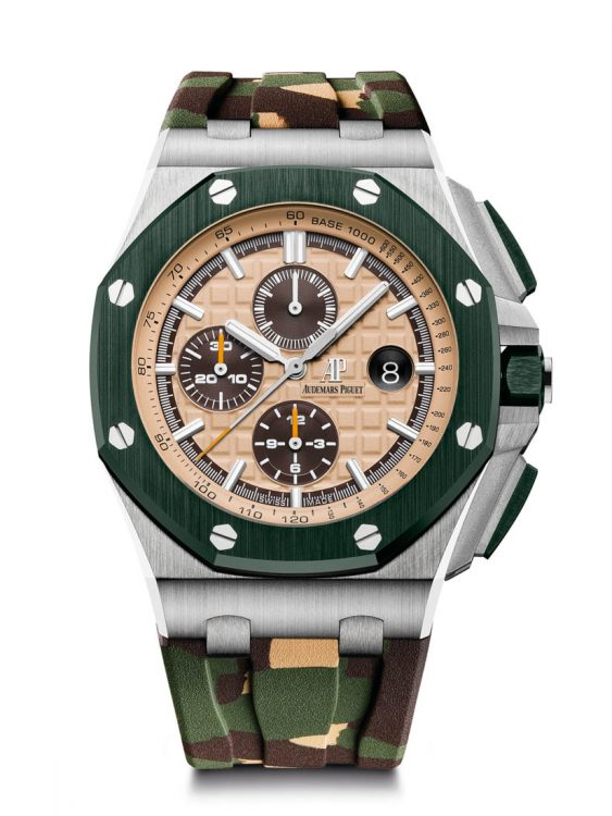Royal Oak Offshore Chronograph 26400SO. 44 mm, automata, stopper.