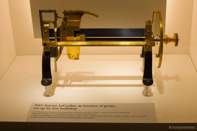 A mikron mérésére alkalmas eszköz, amit Antoine LeCoultre alkotott meg.
